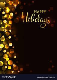 Holiday Party Invitation Royalty Free Vector Image