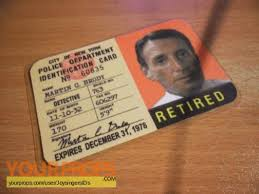 Brody Movie Jaws Prop Replica Martin Id Nypd Card