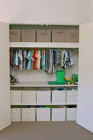 Childrens closet organization Diy Love All Of This Storage Space By Installing Shelves There Is So Much More Room To Store Toys And Such In Bins See More On Design Dazzle Pinterest Kids Closet Organization Ideas For The Home Pinterest Kid