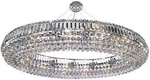 vesuvius chrome oval luxury 24 light large crystal chandelier