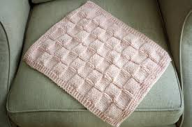 Free Knitting Patterns For Baby Blankets Interesting Design
