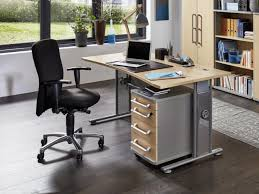office desk buy. Germania Profi Office Desk In Silver And Maple Wood Effect Thumbnail Buy T