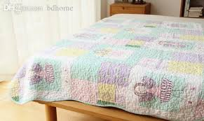 2018 Wholesale Cotton Quilt, Cartoon Thin Quilts, Girl Summer Air ... & wholesale-cotton-quilt-cartoon-thin-quilts.jpg Adamdwight.com