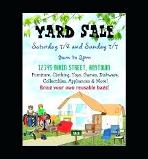 House For Sale Flyer Template Word Free Neighborhood Yard