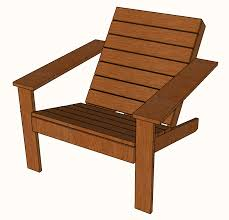 modern adirondack chair plans. Brilliant Adirondack Modern Adirondack Chair With Plans A