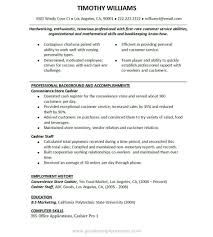 Examples Of Resumes Resume Example A Job For Objective Within 89