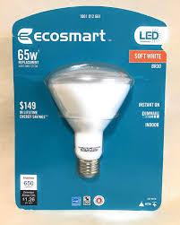 65w Equivalent Soft White 2700k Br30 Led Flood Light Bulb Ecosmart 65w Equivalent Soft White 2700k Br30 Dimmable Led Light Bulb