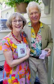 Event hosts, Val Swinton and Noel Lomer – Kitchissippi times