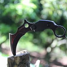Scorpion claw knife machete <b>self defense</b> saber <b>field survival</b> knife ...