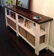 console sofa table with storage.  Sofa Sofa Tables With Storage Rustic Hall Table Gorgeous  Console  Throughout Console Sofa Table With Storage S