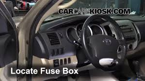 interior fuse box location 2005 2015 toyota tacoma 2006 toyota interior fuse box location 2005 2015 toyota tacoma 2006 toyota tacoma pre runner 4 0l v6 crew cab pickup 4 door