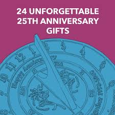 24 unforgettable 25th anniversary gifts heartfelt gifts for her and him dodo burd