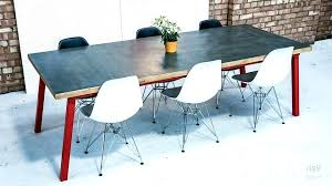 zinc dining table round zinc top dining table uk zinc dining table