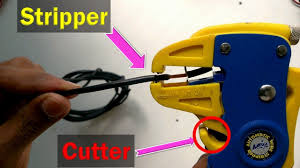 <b>Self Adjusting Cable Wire Insulation</b> Stripper Cutter <b>Automatic</b> Tool ...