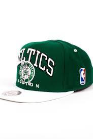 <b>Бейсболка MITCHELL&NESS Boston Celtics</b> Kelly Nuarc Snapback ...