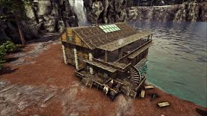 Ark Base Designs Ark How To Build A Boathouse Base No Mods Base Design