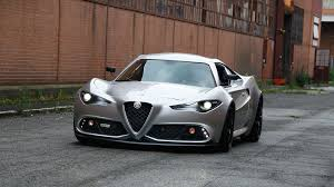 Victory By Design Alfa Romeo Italian Coachbuilder Imagines What Next Alfa 4c Would Look Like