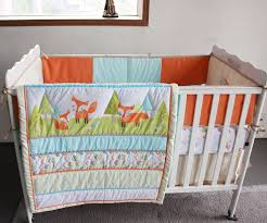 7 Pcs Prairie Fox Baby Bedding Set Baby cradle crib cot bedding ... & 7 Pcs Prairie Fox Baby Bedding Set Baby cradle crib cot bedding set cunas crib  Quilt Sheet Bumper Bed Skirt Included-in Bedding Sets from Mother & Kids on  ... Adamdwight.com