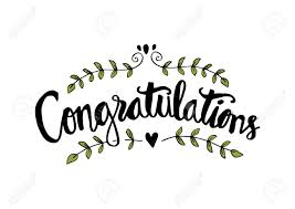 Congratulations Card Hand Lettering Calligraphy