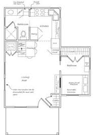 Small Picture 16x28 Tiny Houses 2 Bedroom 15 Bath PDF by ExcellentFloorPlans