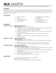 Resume Template For Administrative Assistant Wonderful Secretary Of Defense Resume Legal Administrative Assistant Resume