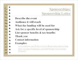Sample Sponsorship Proposal Corporate Example Sports Event