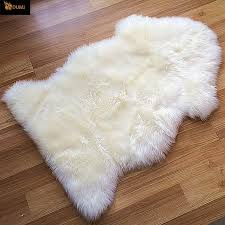 small fur rug roselawnlutheran white north star