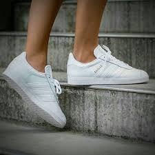 adidas gazelle og leather white gold metallic adidas lifestyle shoes f38c6937