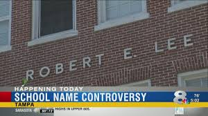 Students Parents Push To Change Name Of Robert E Lee Elementary