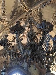 the bone chandelier