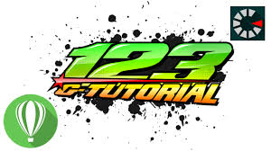Design Racing Racing Number Coreldraw Tutorial 9