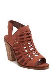 image of vince camuto kessey woven leather sandal