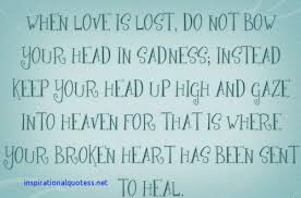Love And Lost Quotes Interesting Inspirational Lost Love Quotes Inspirational Quotes