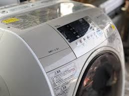 Máy giặt HITACHI BD-VJB1L giặt 9kg sấy 6kg date 2011 còn mới keng