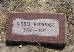 Mabel Aldridge (1902-1937) - Find A Grave Memorial