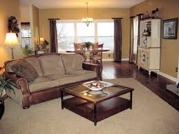 Living Room With Dining Table Dining Room Furnish Your Living Room And Dining Room With Oak And