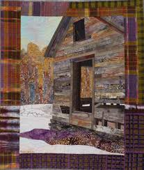"""Passages quilt, 37.5"""" x 32"""", ©2016 by Ruth B. McDowell. Machine ... & Passages 2016 x Machine pieced, machine quilted, cottons, cotton batting  Many passages here, including the passage of time and. Adamdwight.com"""
