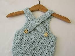 Baby Romper Pattern Free Gorgeous VERY EASY Crochet Cross Back Baby Romper Onesie Tutorial YouTube