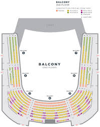 Academy Of Music Seating Chart Balcony Seating Charts Cso