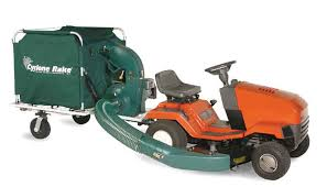 riding mower leaf vacuum. Simple Riding Rake Lawn Vacuum With 6 Horsepower Industrialcommercial Engine Is A  Landscaping And Care Trailer That Hitches To Riding Mower Or Tractor In Riding Mower Leaf Vacuum Y