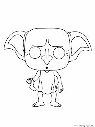 Attend a class or two with them, or join them at the ball, unveil the door behind the paintings or enjoy a game of quidditch. Dobby Is A House Elf In The Harry Potter Coloring Pages Printable Coloring Home