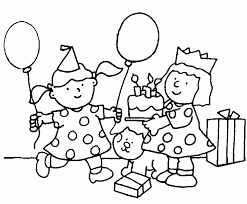 Small Picture Free Birthday Coloring Pages For Kids Printable Birthday