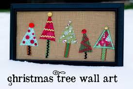 Christmas Wall Art Christmas Tree Wall Art Swell Noel 34 Positively Splendid