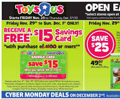 r flyers toys r us black friday flyer november 29 to december 5 2013