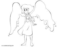 Steven Universe Coloring Pages Lapislazuli Free Printable Coloring