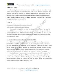 financial management assignment sample