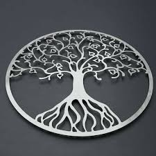 >tree of life metal art tree of life metal wall art metal tree wall  tree of life metal art tree of life metal wall art metal tree wall art circle wall art silver modern wall decor large metal wall art wall sculpture tree of