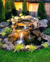 fish pond waterfall ideas small garden ponds with waterfalls backyard pd and streams gardenia ga