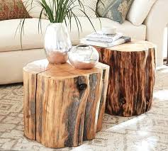 tree trunk furniture for sale. Fine Furniture Tree Trunk End Table Reclaimed Wood Stump Top For  Sale   Throughout Tree Trunk Furniture For Sale B