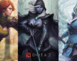 dota 2 female heroes desktop background hd 1920x1080 deskbg com